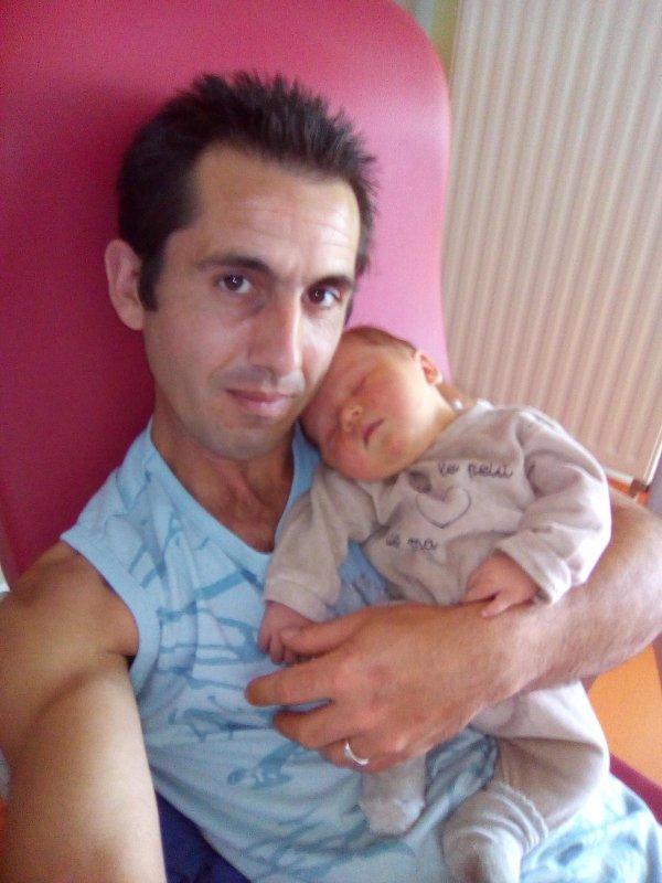 Moi avec ma fille sheryna