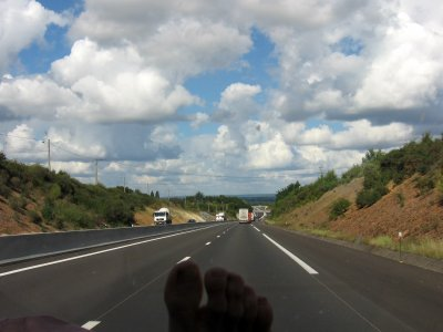 'On the road again'