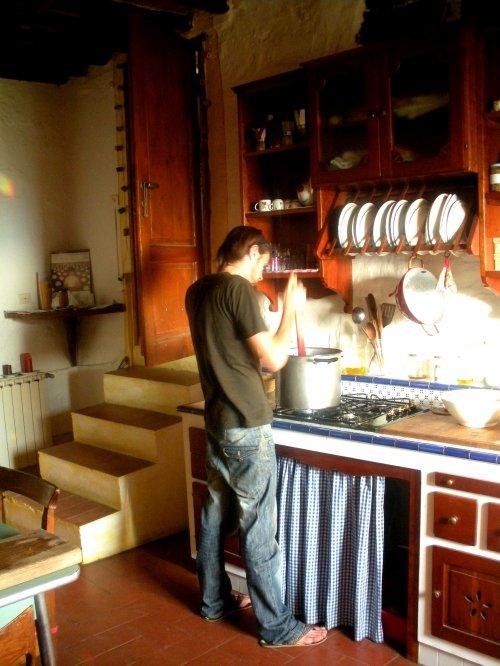 Arrivée à Quercioli chez Giordano Paolo Erika Jada et Andrea pour un mois de wwoofing