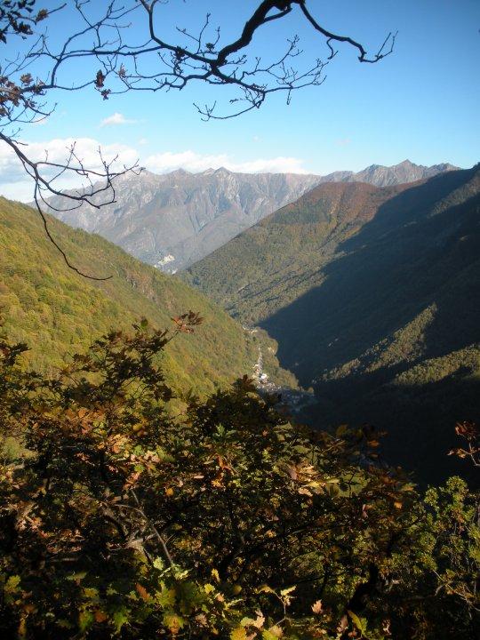 Petite randonnée jusqu'en haut de la montagne