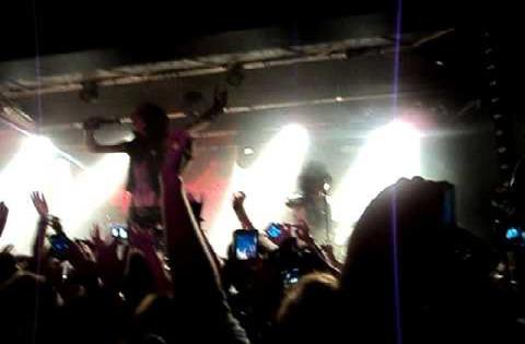 black veil brides à Anvers 2011