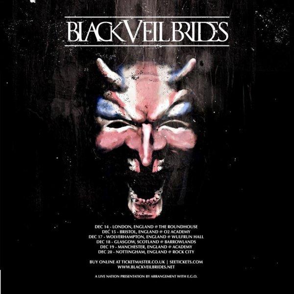 affiche black veil brides
