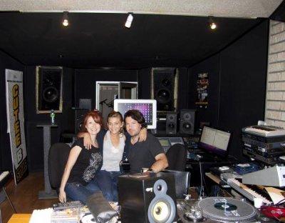 Elle et son studio...