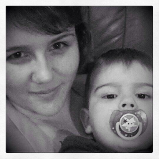 Avec une personne très chère... Mon neveu.. Complicité, bonheur, délires, câlins