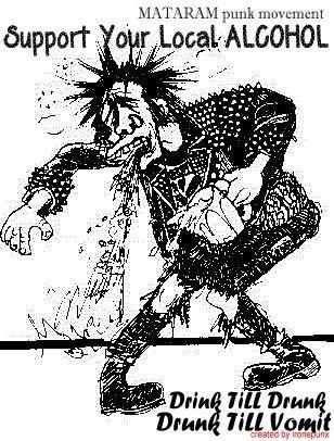 Drink Till Drunk Drunk Till Vomit (Mataram Punk Movement)