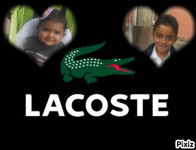 Mwaa.  Moii.   Lacoste