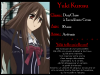 Fiche personnage : Yûki Kurosu