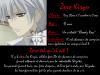 Fiche personnage : Zero Kiryû