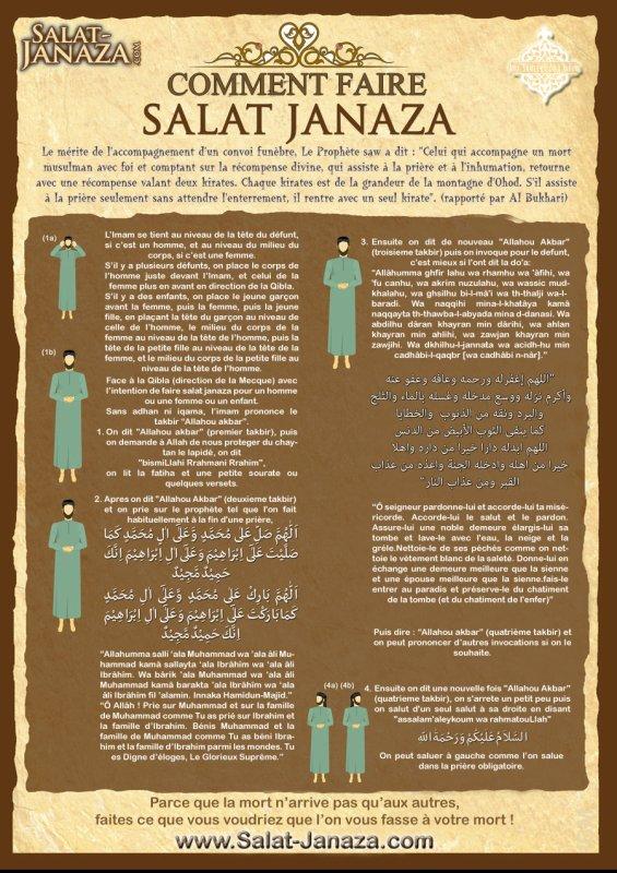 prière mortuaire (salat Janaza)