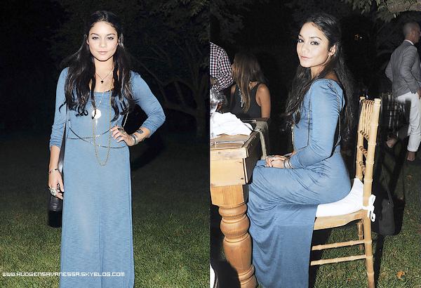 04 septembre 2011  ; Vanessa assiste au 'Linton Hopkins Dinner' à New-York.