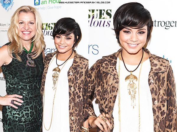 08 septembre 2011  ; Vanessa à la Fashion Week de Mercredes Benz.Miss Hudgens nous fait un TOP!