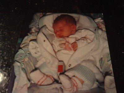 moi quand j'étais bébé :)