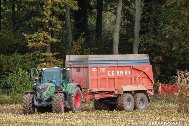 Ensilage 2015 - Clément avec le nouveau FR 700