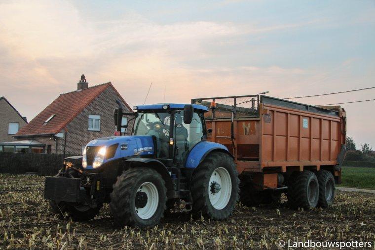 New Holland FR 9080 mais hakselen - Timmerman-Willem
