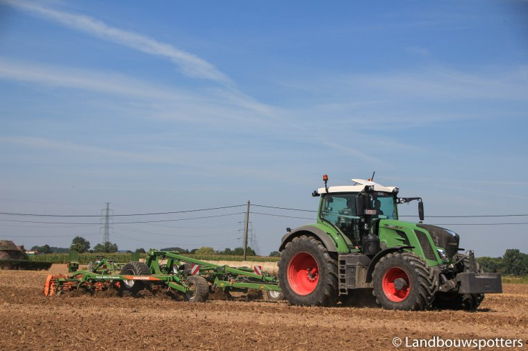 Demo Fendt 826 & 828 Vario Profi