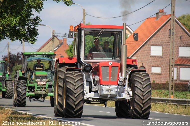 25ste hoevefeeste KLJ Ingooigem - Tractorwijding