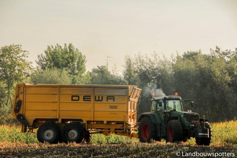 Mais hakselen 2016 - Loonwerken Peltijn uit Hansbeke