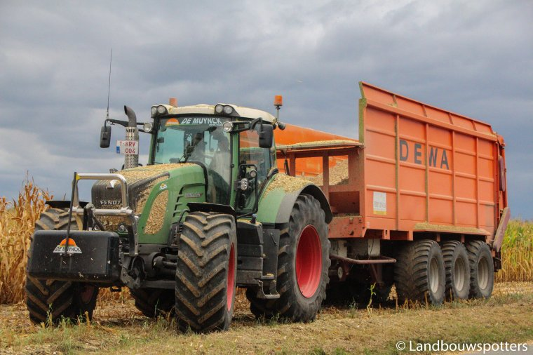 Mais hakselen met New Holland FR 9060