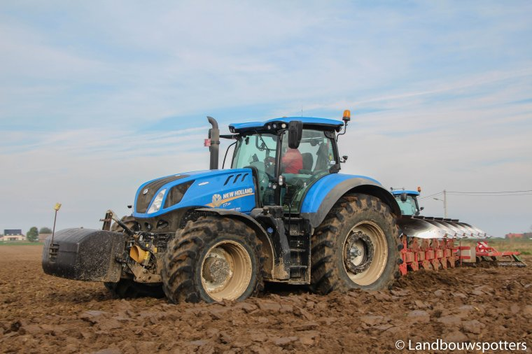 New Holland T7.315 Heavy Duty - Labour 2016