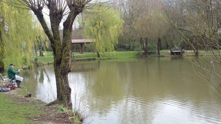 Pêche à Villecresnes (94) 24 mars 2017