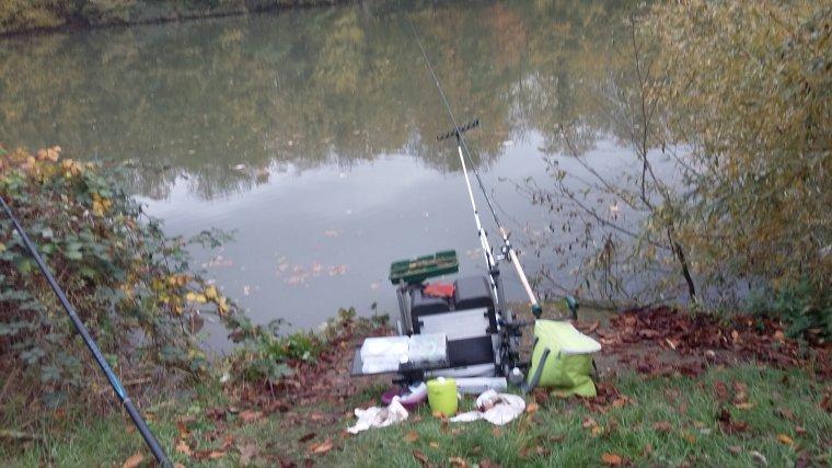 Pêche d'automne au feeder à Andresy (78) le 17 11 2017