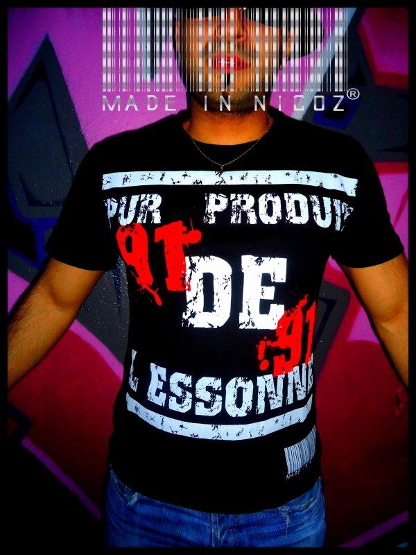 T-SHIRT PUR PRODUIT DE L'ESSONNE !!!