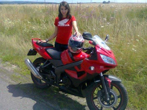 Ma georgette et moi <3 Kymco Quannon 125cc