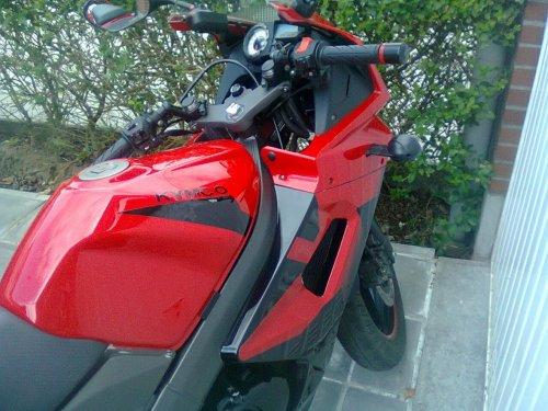 Ma Kymco Quannon 125cc sous toutes ses coutures :)