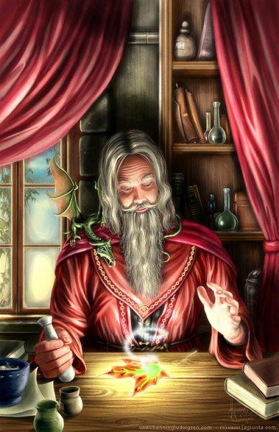 La magie...