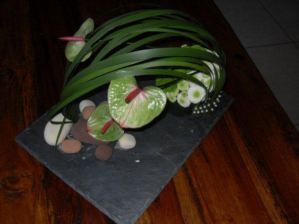 Atelier floral du 1 er juin chez Passion de l'art floral