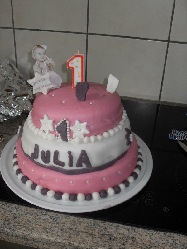 Tout simplement ..- Anniversaire Julia 1 an!