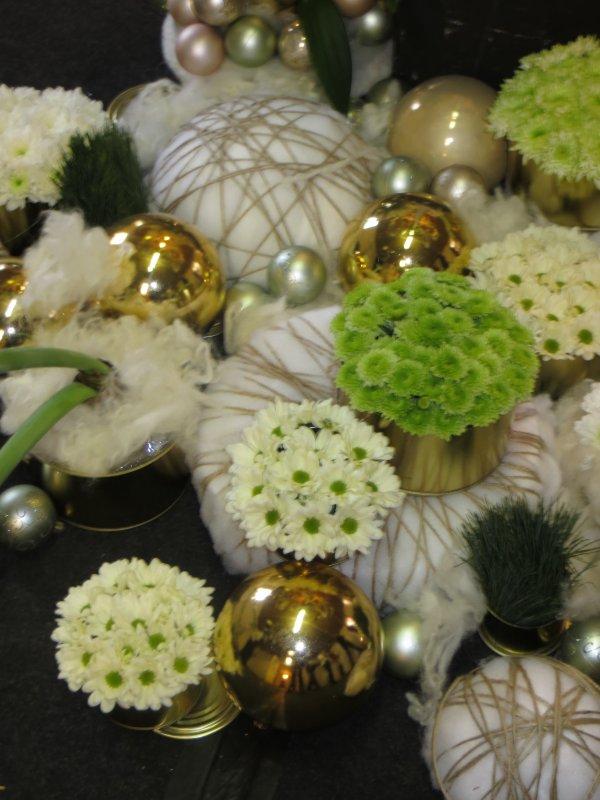 Winter moments with flowers!.Une journée merveilleuse....