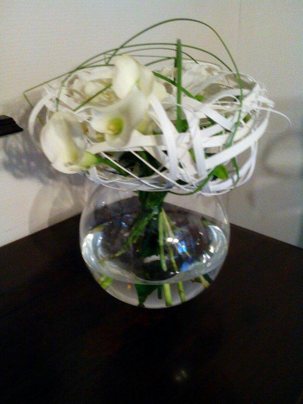 Un bouquet original avec Olivier Seghin
