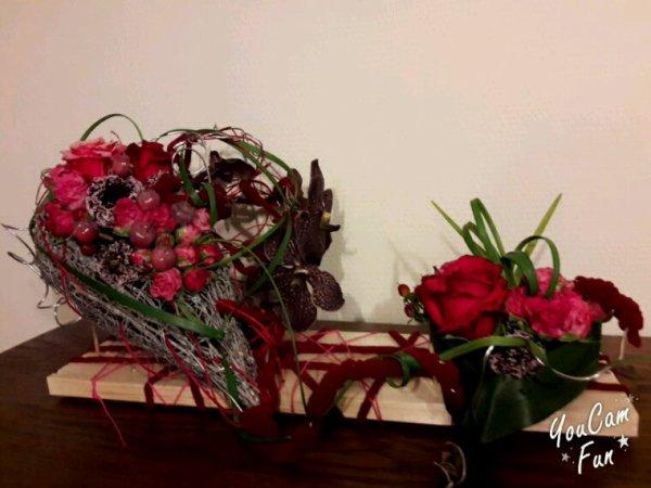 Atelier Saint Valentin chez Francoise Vandonink