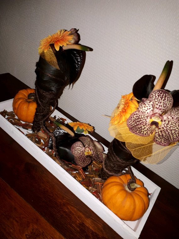 Avec du retard ....petit montage pr Halloween