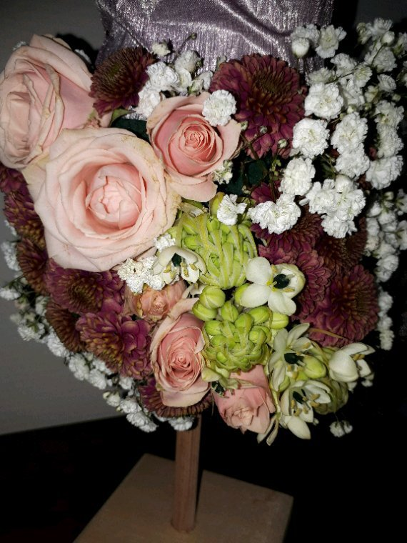 Buste fleuri