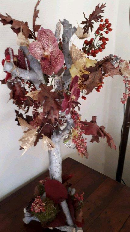 """""""Les feuilles dans le vent """" atelier chez Françoise Vandonink"""