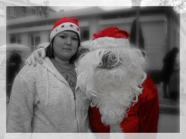 6. Moi & le Papa Noël ^^