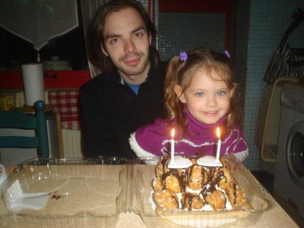 mon  aniv avec ma niece =)