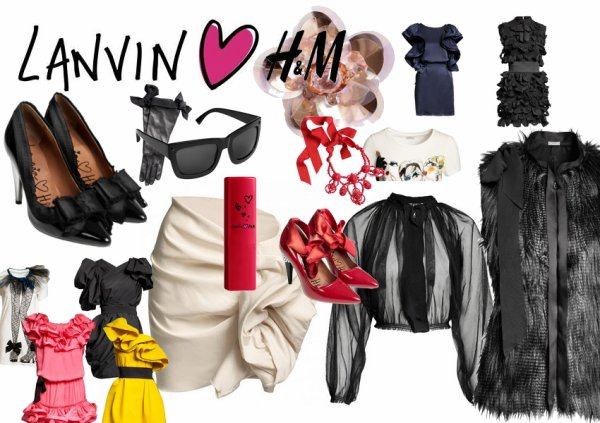 La collection Lanvin for H&M, NOW !