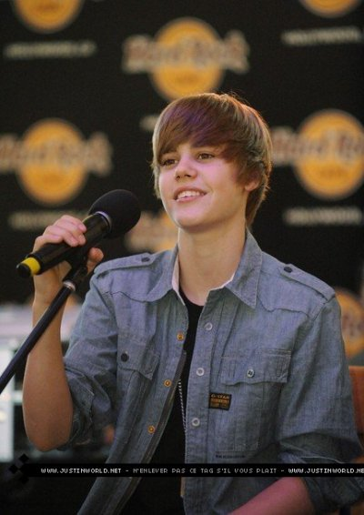 Justin Bieber parle des filles de son coeur et de ses fans