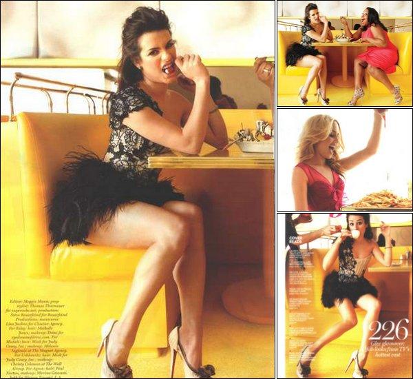 Redécouvrez un ancien shoot ainsi que des scans datant de 2010 de Dianna, Jenna, Lea et Amber pour le magazine Glamour.Ouah ! Elles sont juste S-U-B-L-I-M-E !  $)