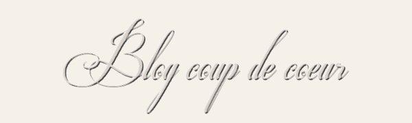 Blog coup de coeur! :D