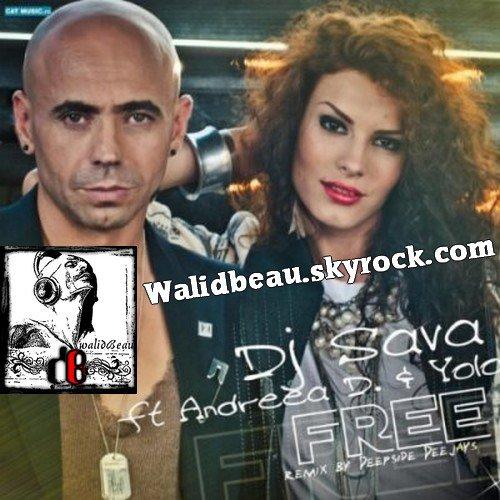DJ Sava Feat. Andreea D  / Free (Radio Edit) (2012)