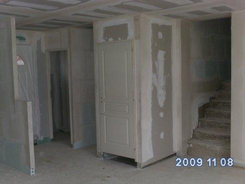 Entr e muret cuisine wc placard porte sous sol et - Decoration wc sous escalier ...
