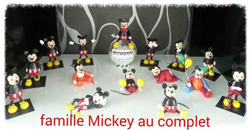 famille mickey