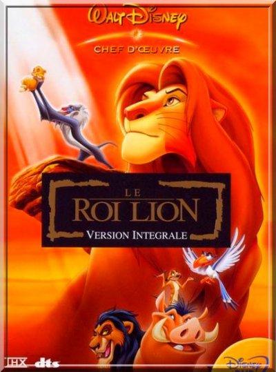Le Roi Lion.  (The Lion King )