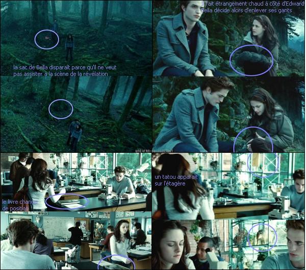 Les erreurs de Twilight - Chapitre 1 : Fascination - Source 1 + 2