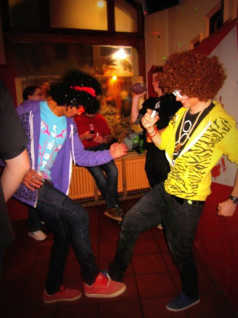 sorry for party rocking !