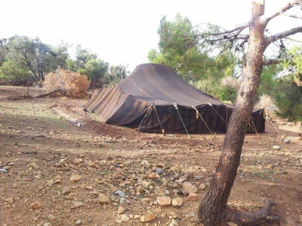 Bienvenue chez les tentes nomade
